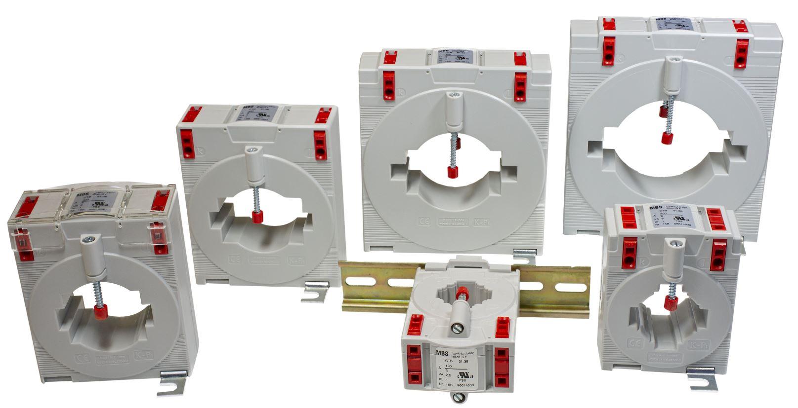 Hitelesített MBS CTB áramváltók